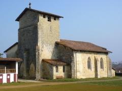 Eglise Saint-Martin -  Eglise Saint-Martin de Caupenne - Façade sud