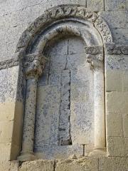 Eglise Saint-Martin -  Fenêtre romane de l'église Saint-Martin de Caupenne