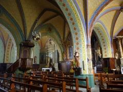 Eglise Saint-Martin -  La nef de l'église Saint-Martin de Caupenne