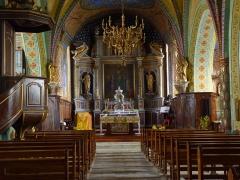 Eglise Saint-Martin -  Peintures de l'église Saint-Martin de Caupenne