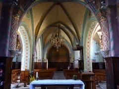 Eglise Saint-Martin -  Le lustre de l'église Saint-Martin de Caupenne