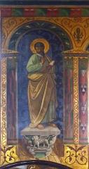 Eglise Saint-Martin -  Peintures figuratives de l'église Saint-Martin de Caupenne