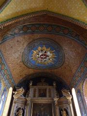 Eglise Saint-Martin -  Le plafond du sanctuaire de l'église Saint-Martin de Caupenne