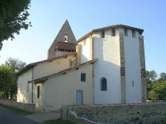 Eglise Notre-Dame -  Église de Garein, dans le département français des Landes