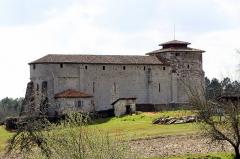 Eglise Saint-Pierre - Lëtzebuergesch: Romanesch Kierch vu Lesgor Nordfaçade