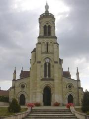 Ancienne église Notre-Dame - English: Notre-Dame-de-Maylis church in Landes, France