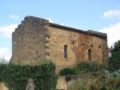 Ancienne Chapelle romane - Français:   Ancienne chapelle romane de Mont-de-Marsan (proche du donjon Lacataye), dans le département français des Landes