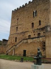 Ancien Donjon de Lacataye - Français:   Une des façades du musée Despiau-Wlérick à Mont-de-Marsan (40)