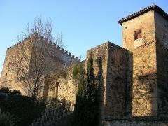Ancien Donjon de Lacataye -  Donjon Lacataye et tour des remparts à Mont-de-Marsan. Photo prise par Jibi44