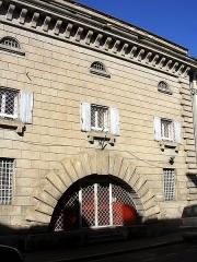 Ancienne prison - Français:   Prison de Mont-de-Marsan, dans le département français des Landes