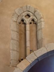 Eglise de Sainte-Catherine -  Ancienne ouverture trilobée de l'église Sainte-Catherine de Montaut