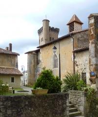 Eglise de Sainte-Catherine -  Façade sud de l'église Sainte-Catherine de Montaut
