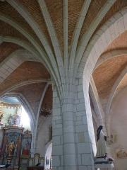 Eglise de Sainte-Catherine -  Retombées d'ogibes - église Sainte-Catherine de Montaut