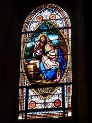 Eglise de Sainte-Catherine -  Vitrail de l'église Sainte-Catherine de Montaut (Landes)