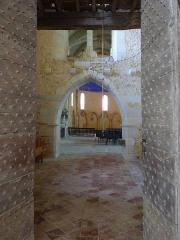 Eglise Saint-Pierre de Brocas -  Partie ancienne - église Saint-Pierre de Brocas