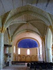 Eglise Saint-Pierre de Brocas -  Ancienne nef - église Saint-Pierre de Brocas