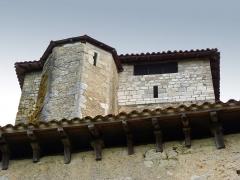 Eglise Saint-Pierre de Brocas -  Tourelle d'escalier de l'église Saint-Pierre de Brocas