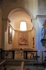 Eglise Saint-Barthélémy - Français:   Eglise de Pimbo - Absidiole nord