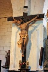Eglise Saint-Barthélémy - Français:   Eglise de Pimbo - Crucifix