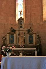 Eglise Saint-Barthélémy - Français:   Eglise de Pimbo - Maître-autel