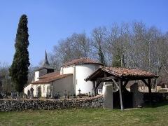 Eglise Saint-Jean-Baptiste - English: The Church of Saint-Jean-Baptiste de Richet in Pissos, Aquitaine, France.