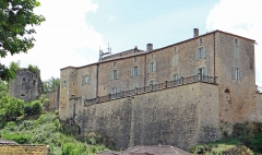 Château de Blanquefort - Français:   Château de Blanquefort-sur-Briolance