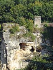 Ruines du château - Français:   Château de Cuzorn