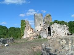 Ancien château - Français:   Château de Gavaudun, Lot-et-Garonne