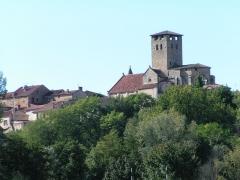 Eglise Saint-Géraud - Français:   Château Prieural de Monsempron-Libos