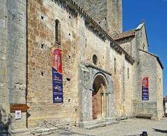 Eglise Saint-Géraud - Français:   Monsempron-Libos - Église Saint-Géraud - Façade sud