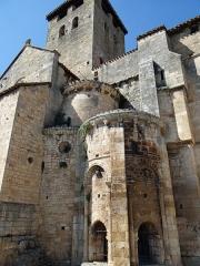 Eglise Saint-Géraud - Français:   Monsempron-Libos - Église Saint-Géraud - Absidiole sud et clocher