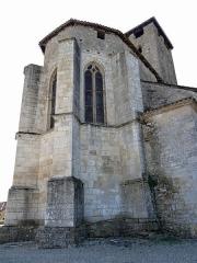 Eglise Saint-Géraud - Français:   Monsempron-Libos - Église Saint-Géraud - Chevet
