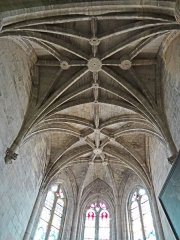 Eglise Saint-Géraud - Français:   Monsempron-Libos - Église Saint-Géraud - Choeur: voûte