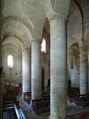 Eglise Saint-Géraud - Français:   Monsempron-Libos - Église Saint-Géraud - Nef: collatéral sud