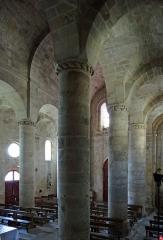 Eglise Saint-Géraud - Français:   Monsempron-Libos - Église Saint-Géraud - Nef