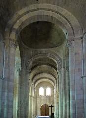 Eglise Saint-Géraud - Français:   Monsempron-Libos - Église Saint-Géraud - Nef: vaisseau central vu depuis le choeur