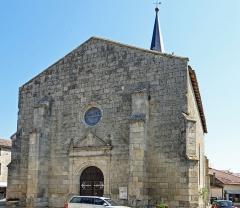 Eglise Saint-Jean - Français:   Prayssas - Église Saint-Jean - Façade ouest