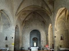 Eglise Saint-Jean - Français:   Prayssas - Église Saint-Jean- Nef et chapelles latérales