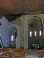 Restes de l'église Saint-Front - Français:   Saint-Front-sur-Lémance - Église Saint-Front - Chevet