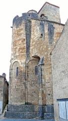 Restes de l'église Saint-Front - Français:   Saint-Front-sur-Lémance - Église Saint-Front - Abside