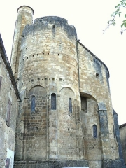 Restes de l'église Saint-Front - Français:   Saint-Front-sur-Lémance - Eglise Saint-Front - Chevet