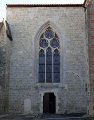 Eglise Sainte-Livrade - Français:   Sainte-Livrade-sur-Lot - Église Sainte-Livrade - Façade de la chapelle de la Vierge
