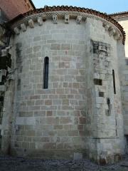 Eglise Sainte-Livrade - Français:   Sainte-Livrade-sur-Lot - Église Sainte-Livrade - Chevet - Absidiole nord