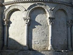 Eglise Sainte-Livrade - Français:   Sainte-Livrade-sur-Lot - Église Sainte-Livrade - Chevet - Arcature est