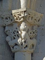 Eglise Sainte-Livrade - Français:   Sainte-Livrade-sur-Lot - Église Sainte-Livrade - Chevet - Chapiteau arcature est