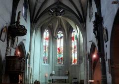 Eglise Saint-Etienne - Français:   Villeneuve-sur-Lot - Église Saint-Étienne - Choeur