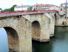 Vieux Pont - Français:   Villeneuve-sur-Lot - Pont des Cieutats