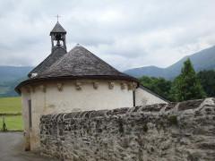 Chapelle Saint-Saturnin de Jouers -  Jouers (Accous, Pyr-Atl, Fr) Saint-Saturnin chapel, apse