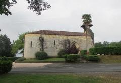 Commanderie de Caubin - Français:   La chapelle de Caubin.