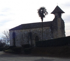 Commanderie de Caubin -  Chapelle de Caubin